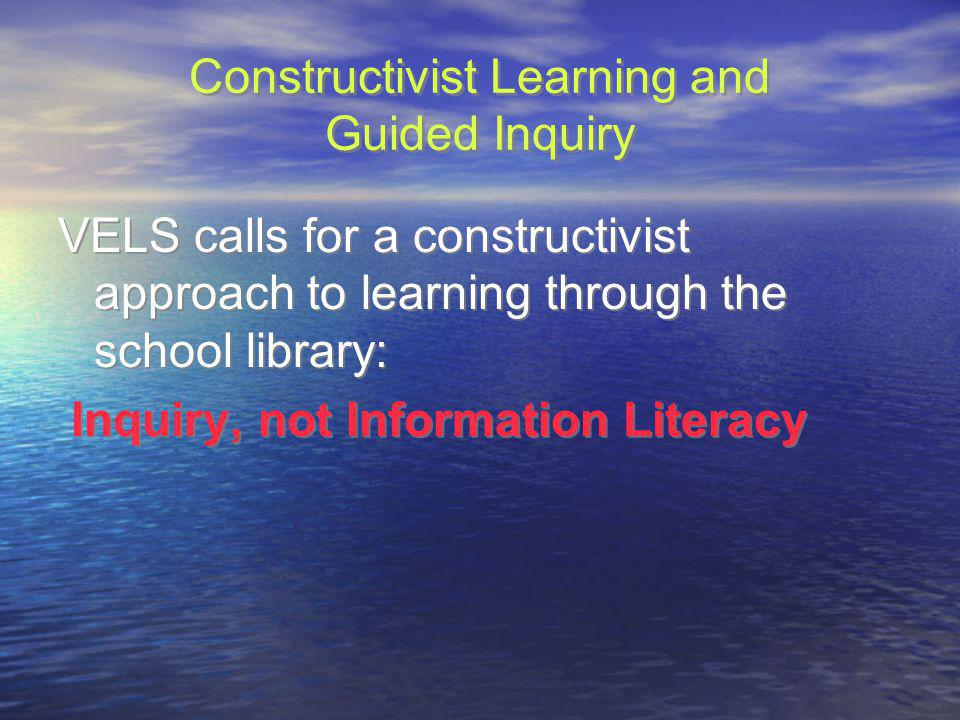 Constructivist Learning and Guided Inquiry