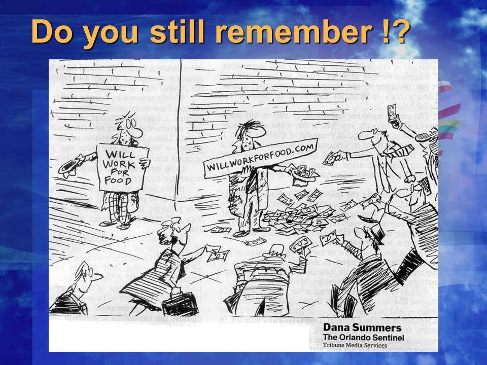 Do you still remember !