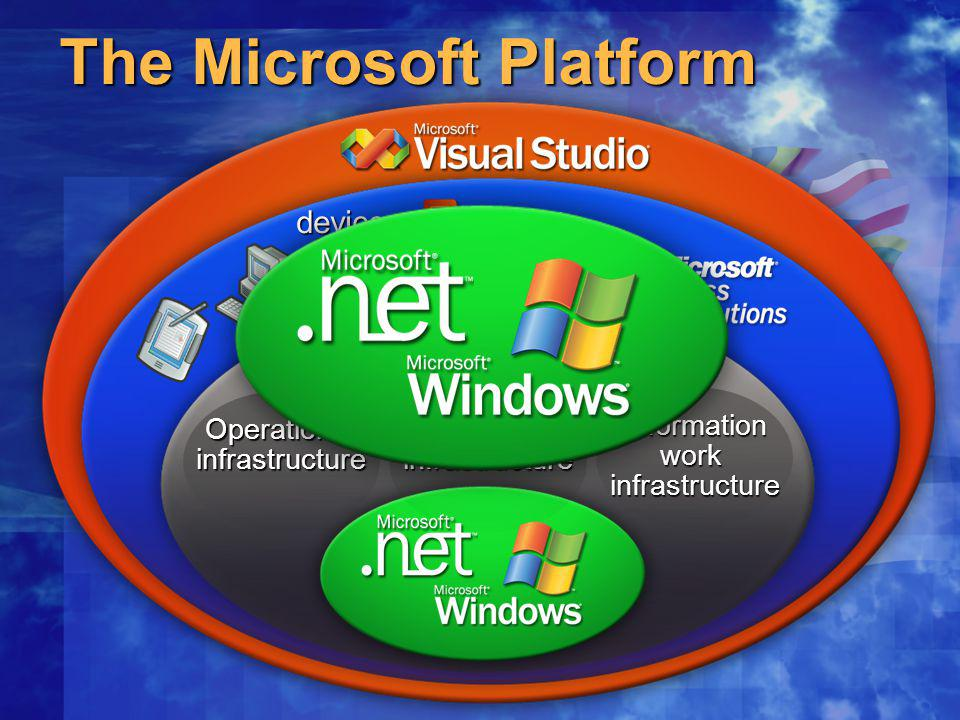 The Microsoft Platform