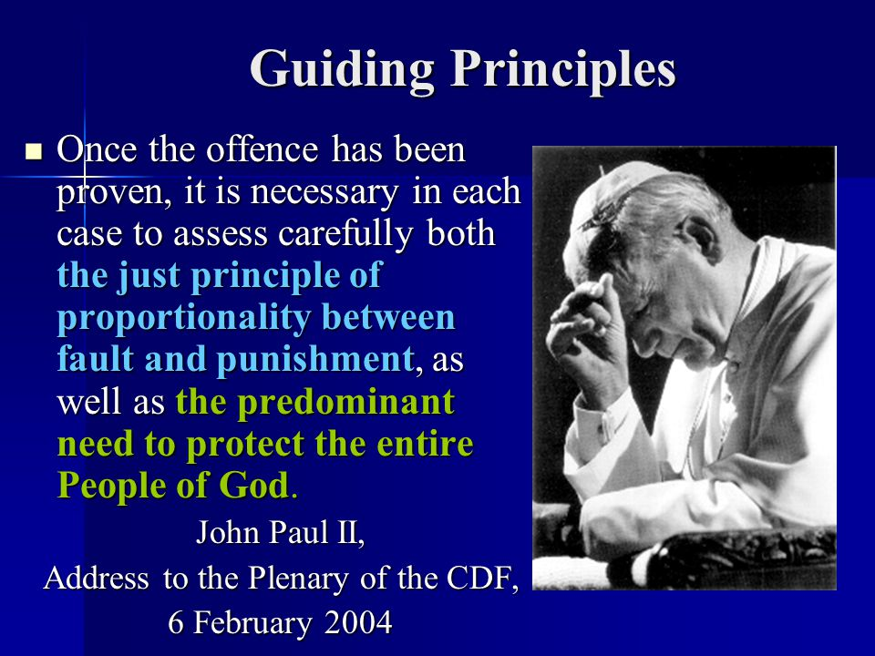 Address to the Plenary of the CDF,