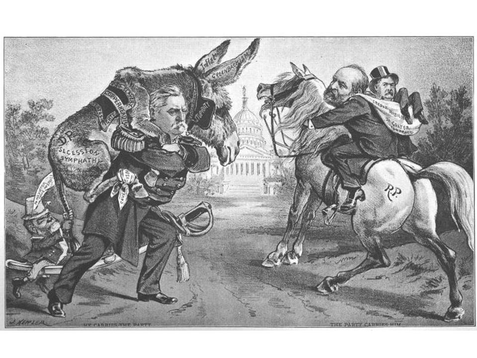By 1880 the Donkey had returned to common use as a symbol for the party. First used in 1837 in conjunction with Andrew Jackson, Thomas Nast first used the donkey in 1870.