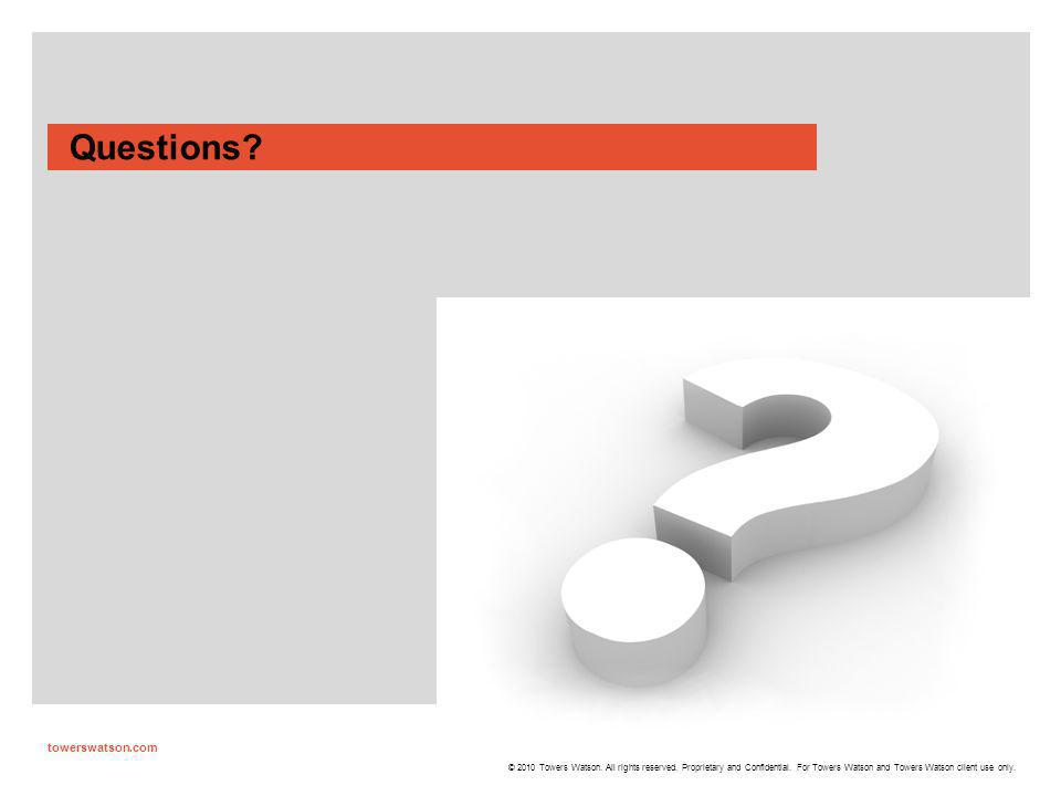 Questions towerswatson.com 36