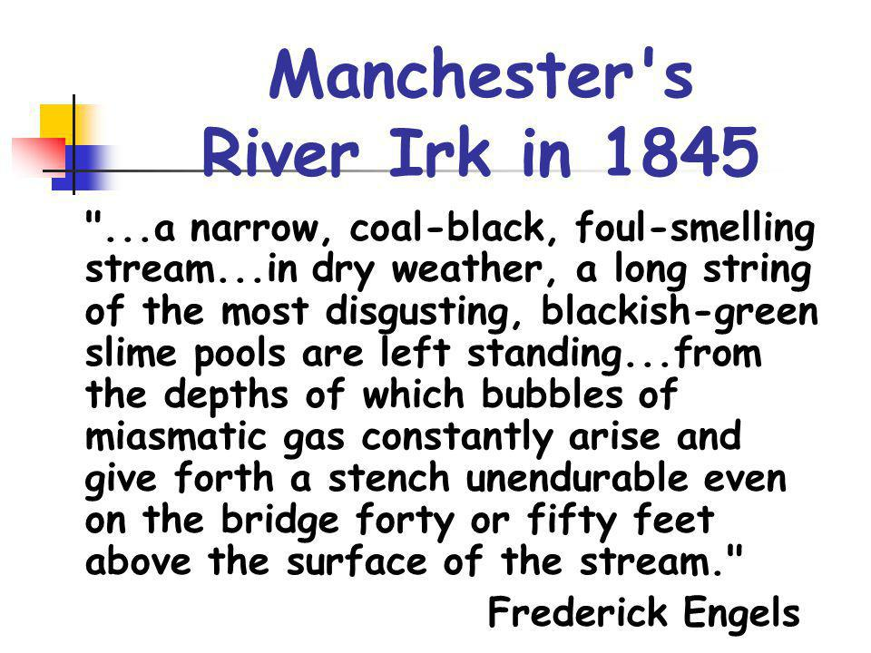 Manchester s River Irk in 1845