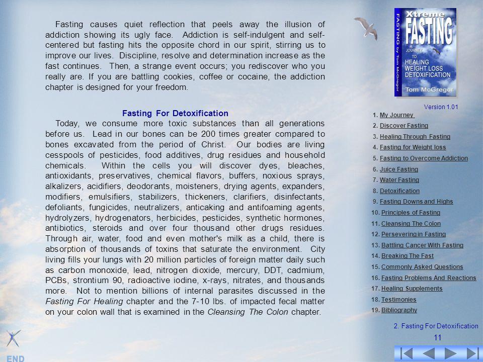 2. Fasting For Detoxification