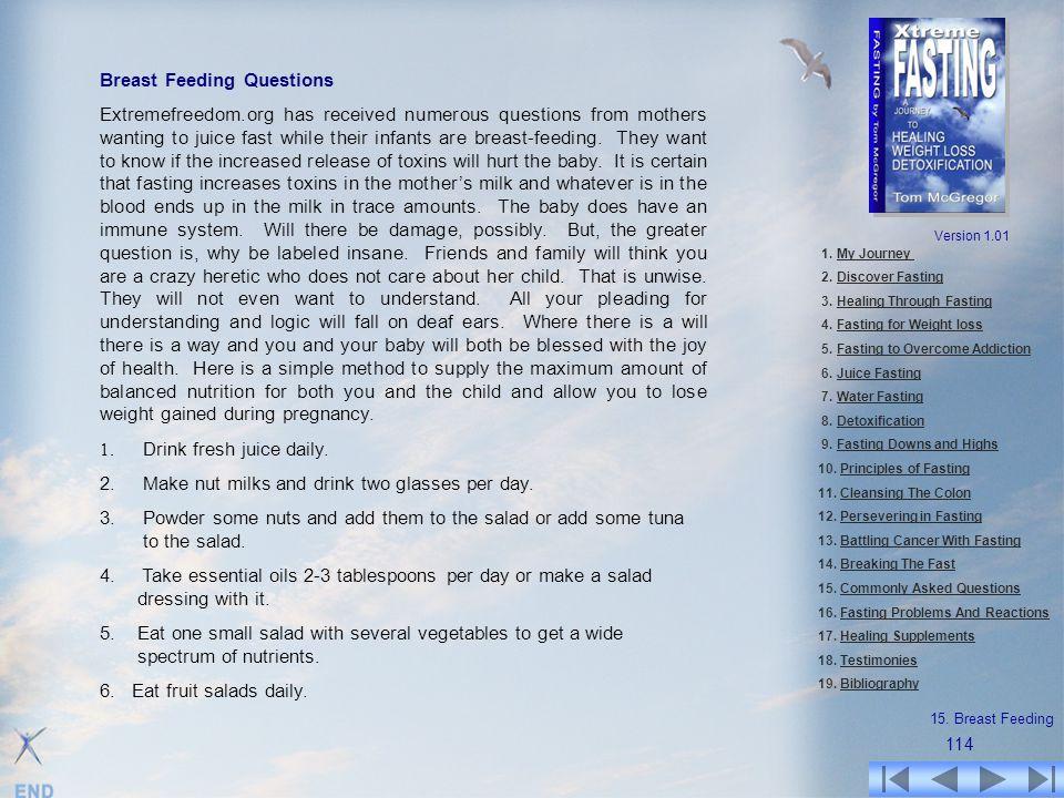 Breast Feeding Questions