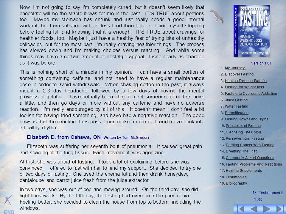 Elizabeth D. from Oshawa, ON (Written by Tom McGregor)