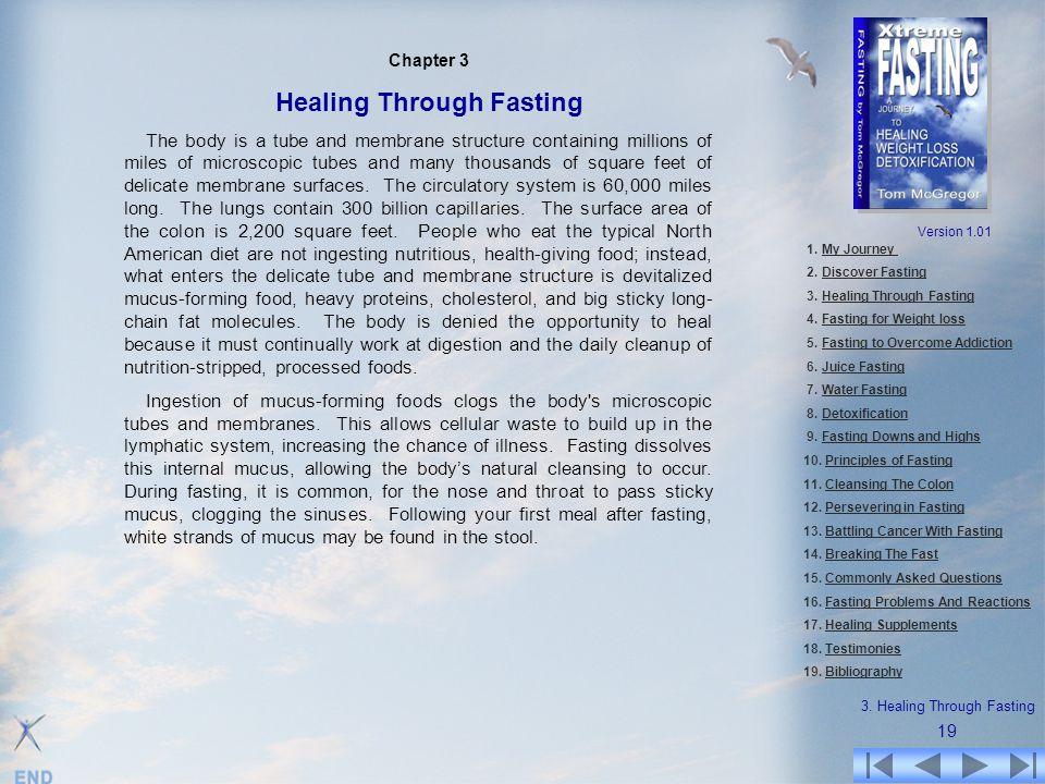3. Healing Through Fasting
