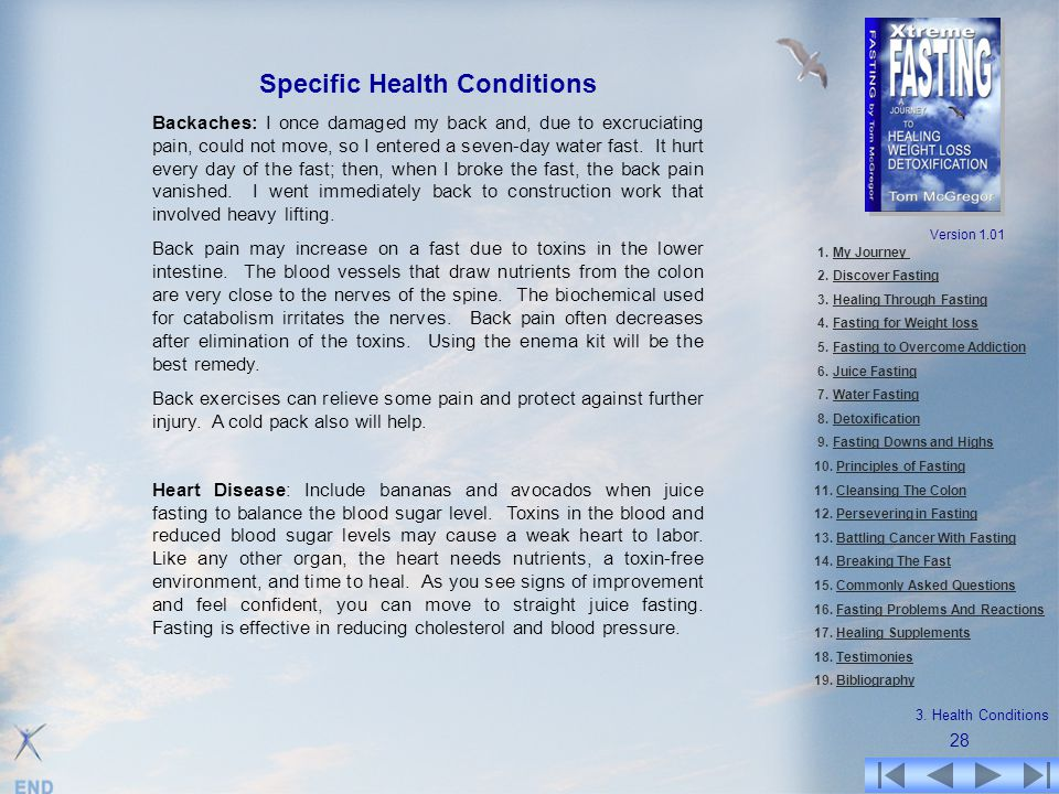 Specific Health Conditions