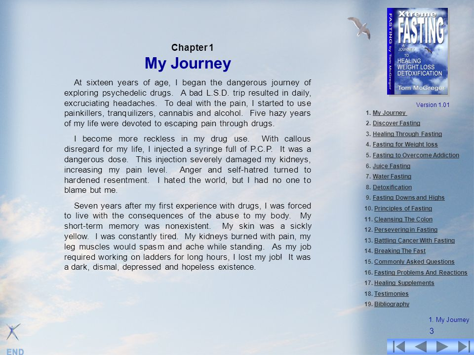 Chapter 1 My Journey