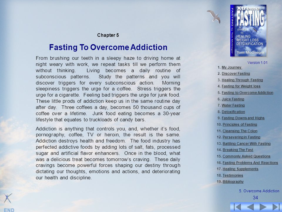 Fasting To Overcome Addiction