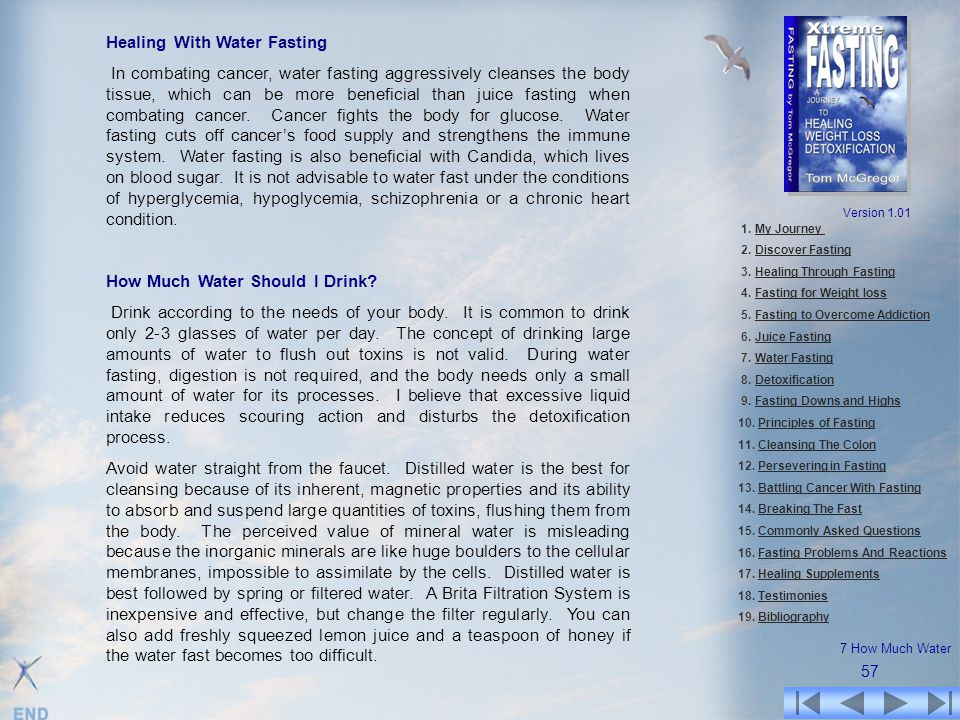 Healing With Water Fasting