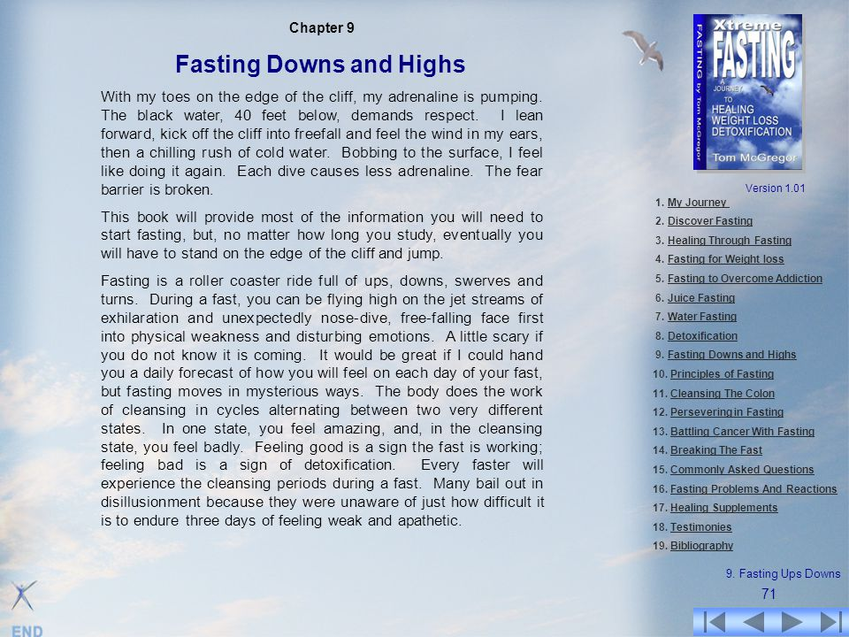 Fasting Downs and Highs