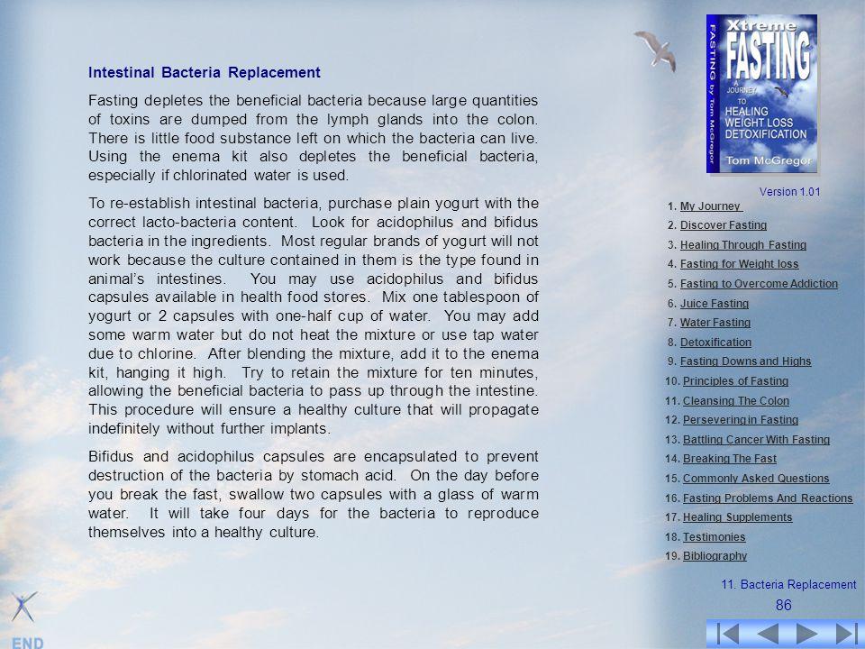 Intestinal Bacteria Replacement