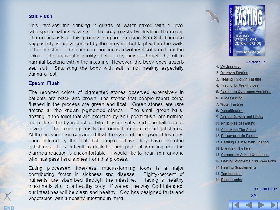 Salt Flush