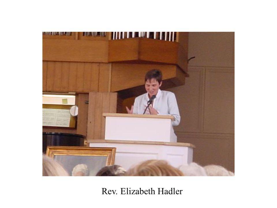 Hadler Rev. Elizabeth Hadler