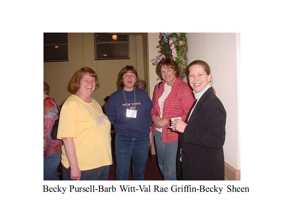 Becky Pursell-Barb Witt-Val Rae Griffin-Becky Sheen