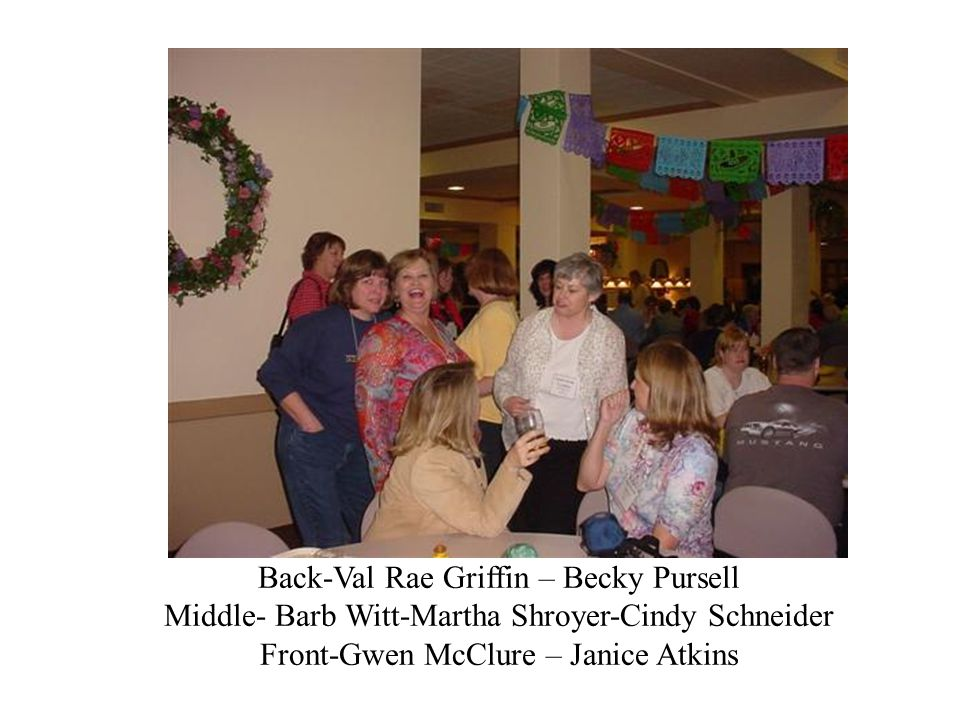 Back-Val Rae Griffin – Becky Pursell