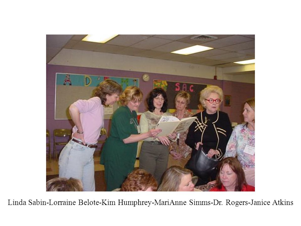 Linda Sabin-Lorraine Belote-Kim Humphrey-MariAnne Simms-Dr
