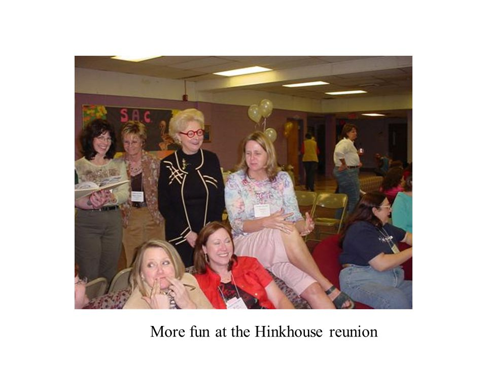 More fun at the Hinkhouse reunion