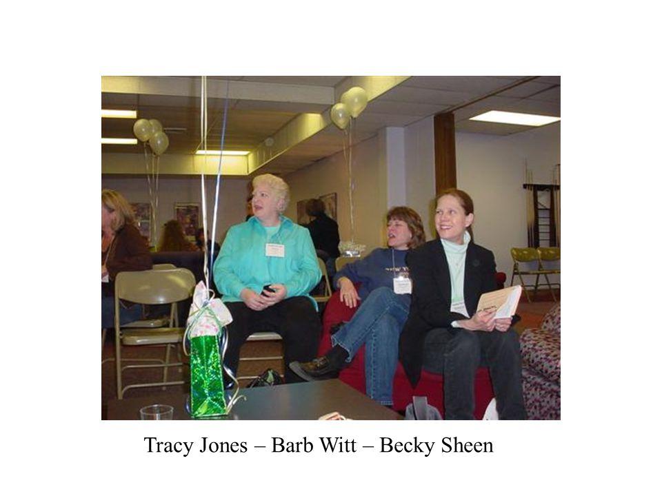 Tracy Jones – Barb Witt – Becky Sheen