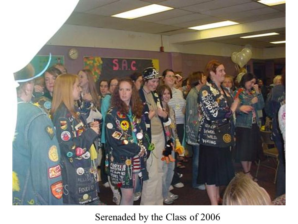 Serenaded by the Class of 2006