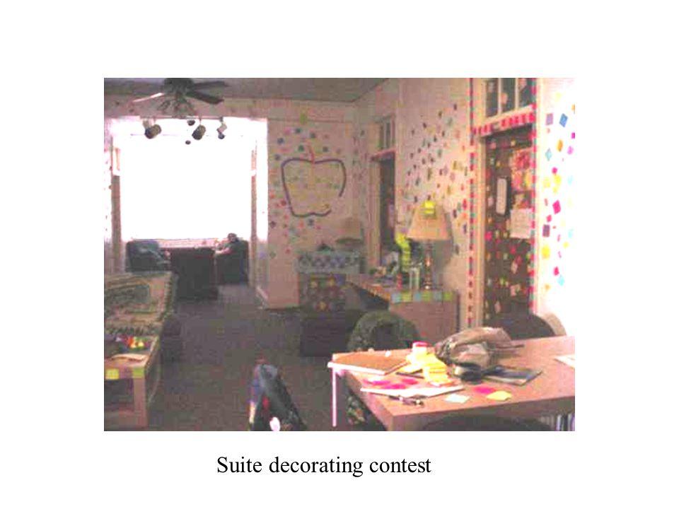 Suite decorating contest