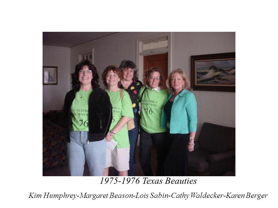Kim Humphrey-Margaret Beason-Lois Sabin-Cathy Waldecker-Karen Berger