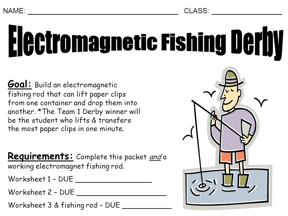 Electromagnetic Fishing Derby