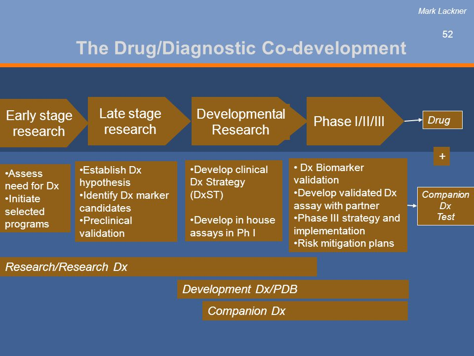 The Drug/Diagnostic Co-development