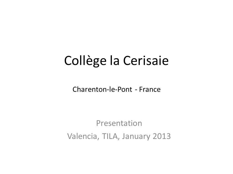 Collège la Cerisaie Charenton-le-Pont - France