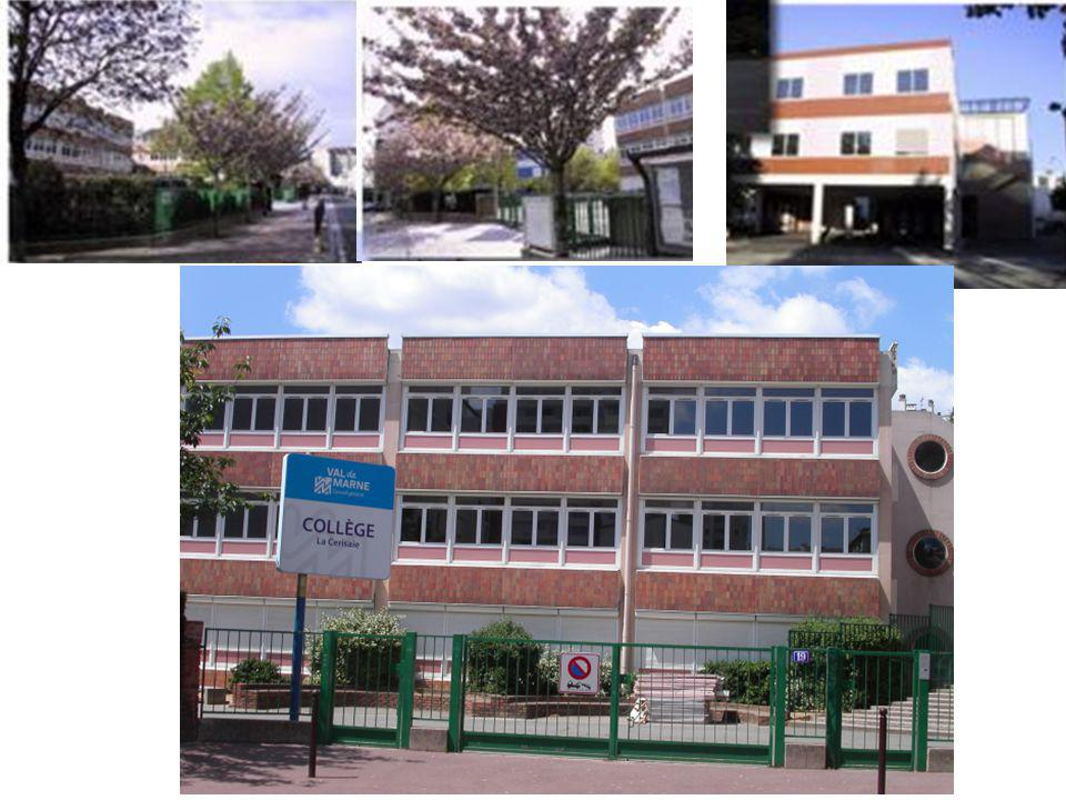 The only public (not private) secondary school in Charenton