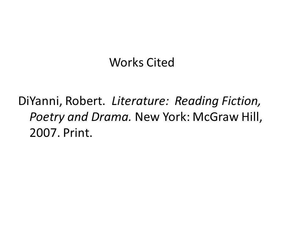 Works Cited DiYanni, Robert