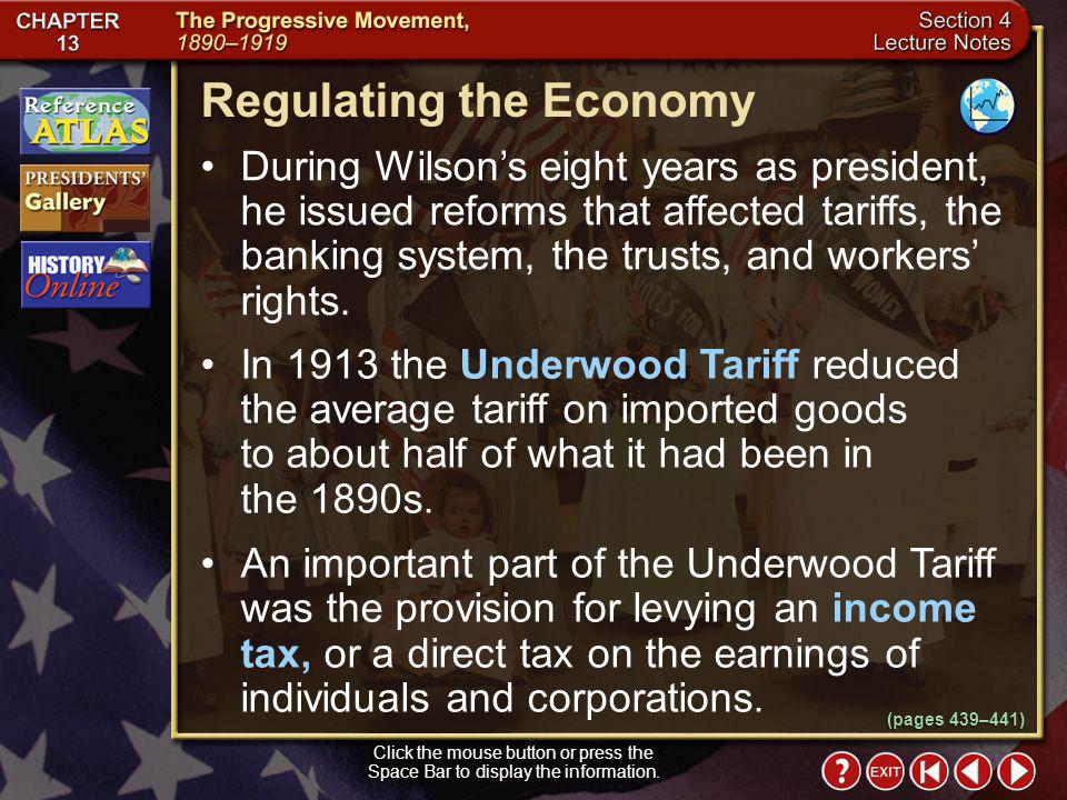 Regulating the Economy