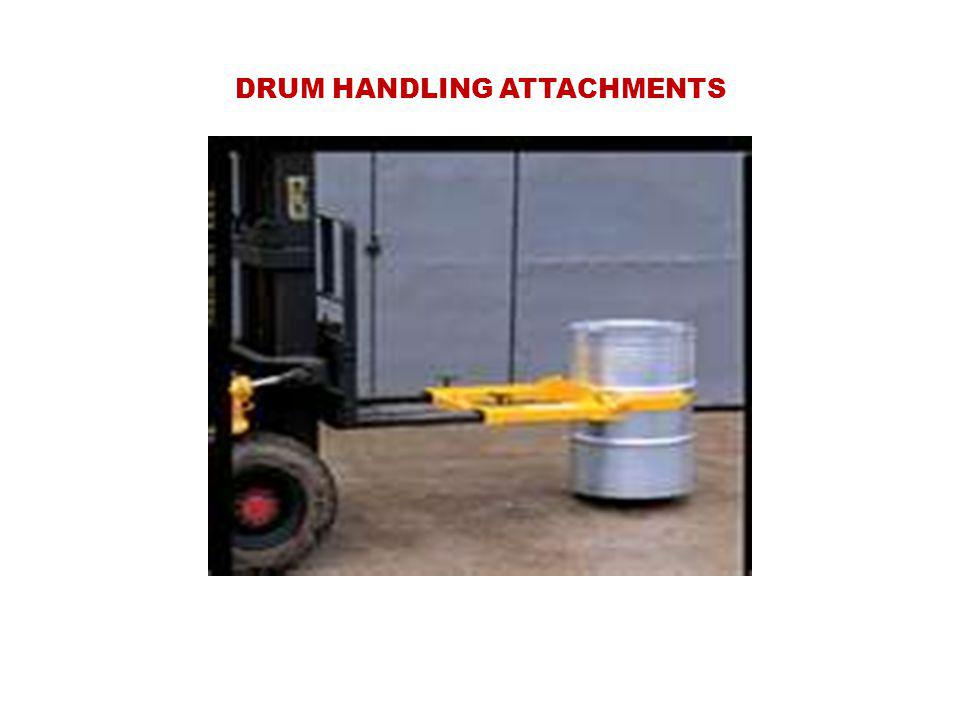 DRUM HANDLING ATTACHMENTS