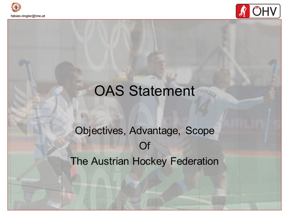 Objectives, Advantage, Scope Of The Austrian Hockey Federation