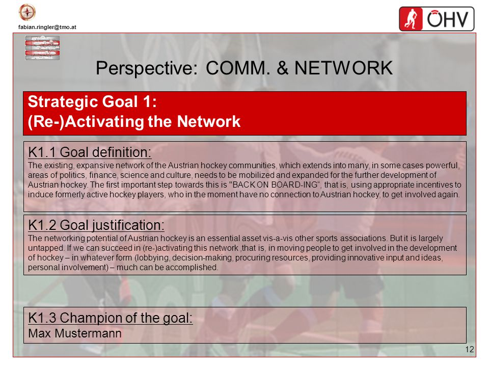 Perspective: COMM. & NETWORK