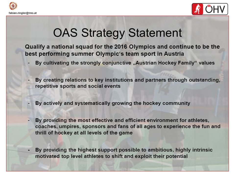 OAS Strategy Statement