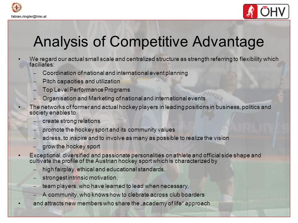 Analysis of Competitive Advantage