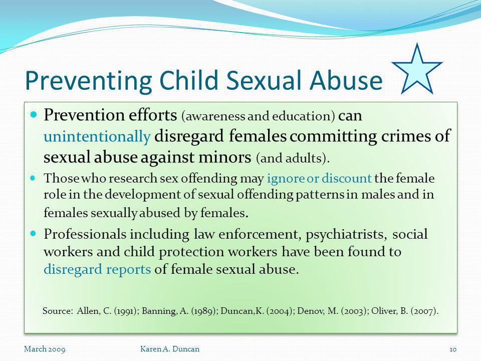 Preventing Child Sexual Abuse