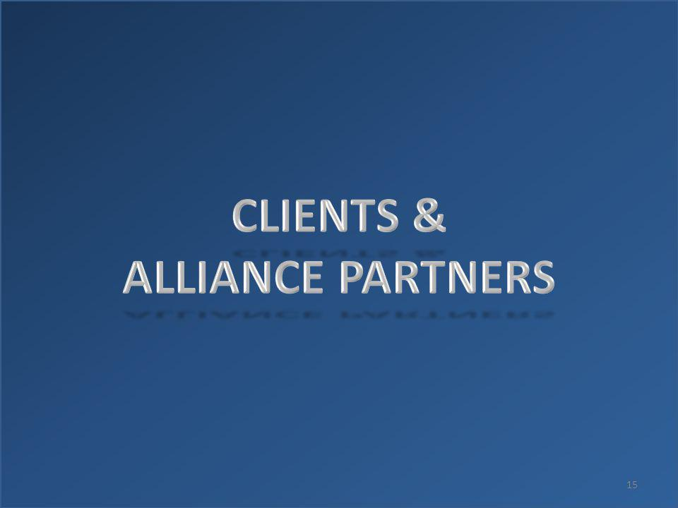 CLIENTS & ALLIANCE PARTNERS