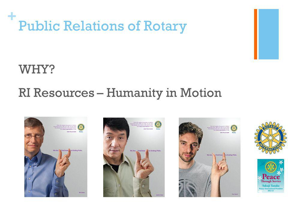 Public Relations of Rotary