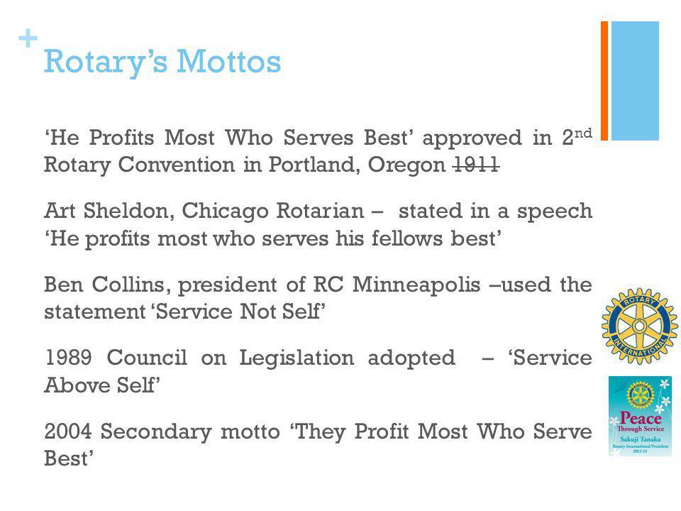 Rotary's Mottos
