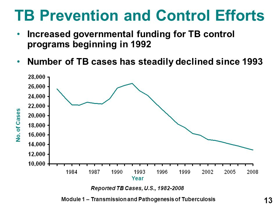 TB Prevention and Control Efforts