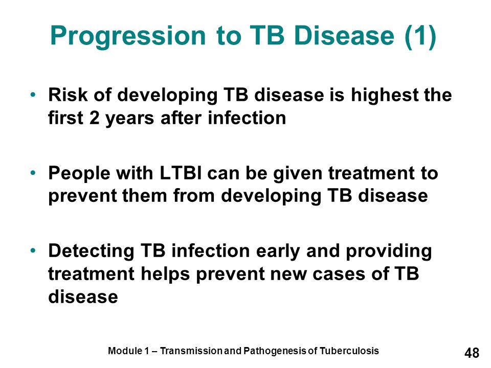 Progression to TB Disease (1)