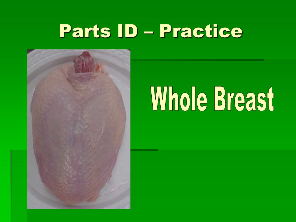 Parts ID – Practice Whole Breast