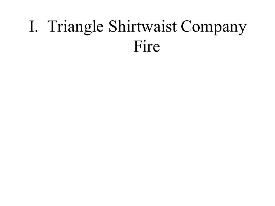 I. Triangle Shirtwaist Company Fire