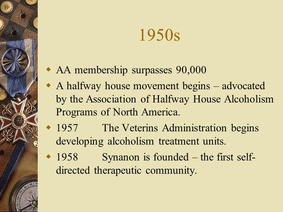 1950s AA membership surpasses 90,000