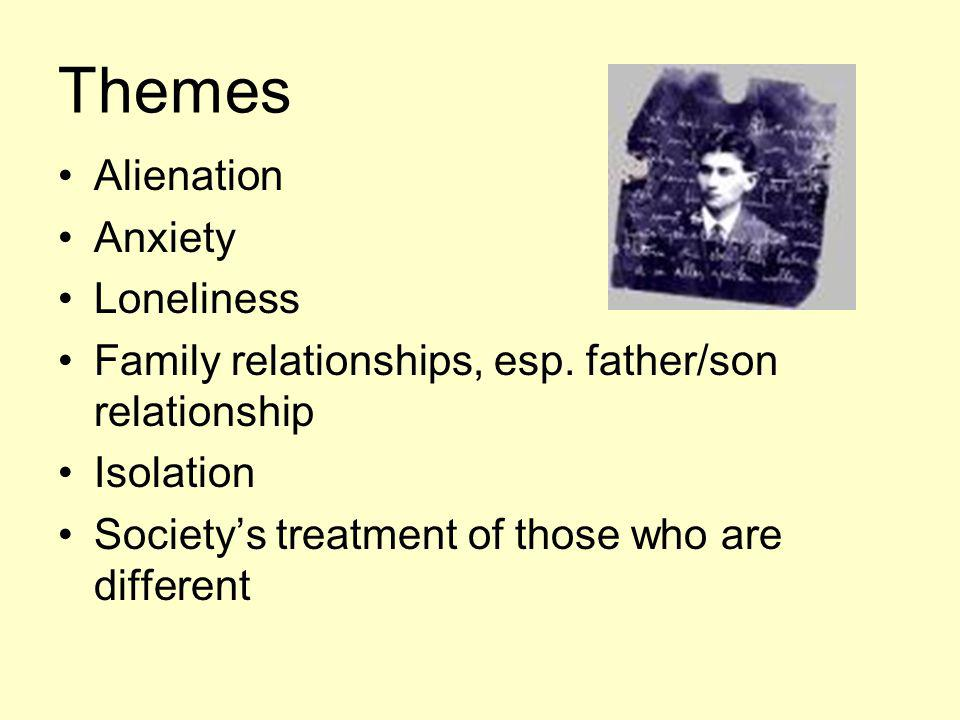 Themes Alienation Anxiety Loneliness