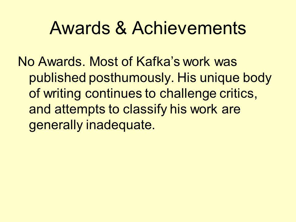 Awards & Achievements