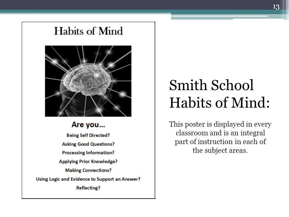 Smith School Habits of Mind:
